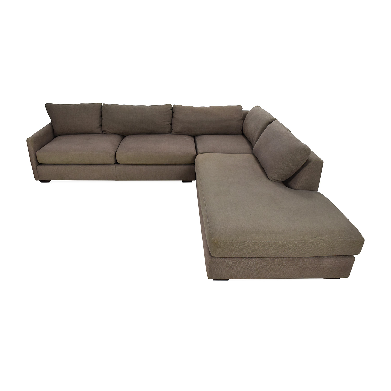 crate and barrel lounge sofa review fixing a frame furniture sectional