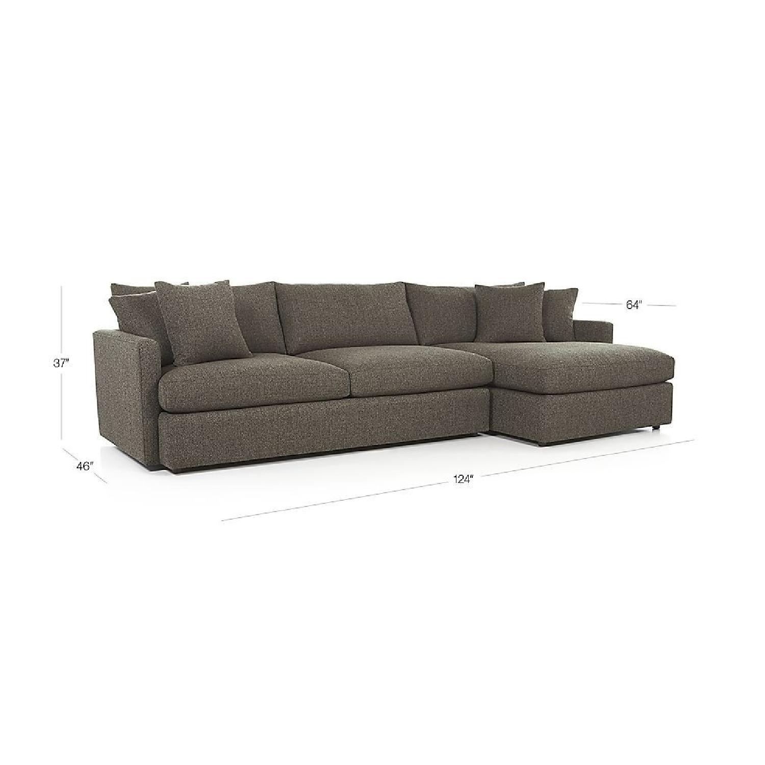 crate and barrel sofa sleeper review west elm dekalb leather reviews furniture couch twin