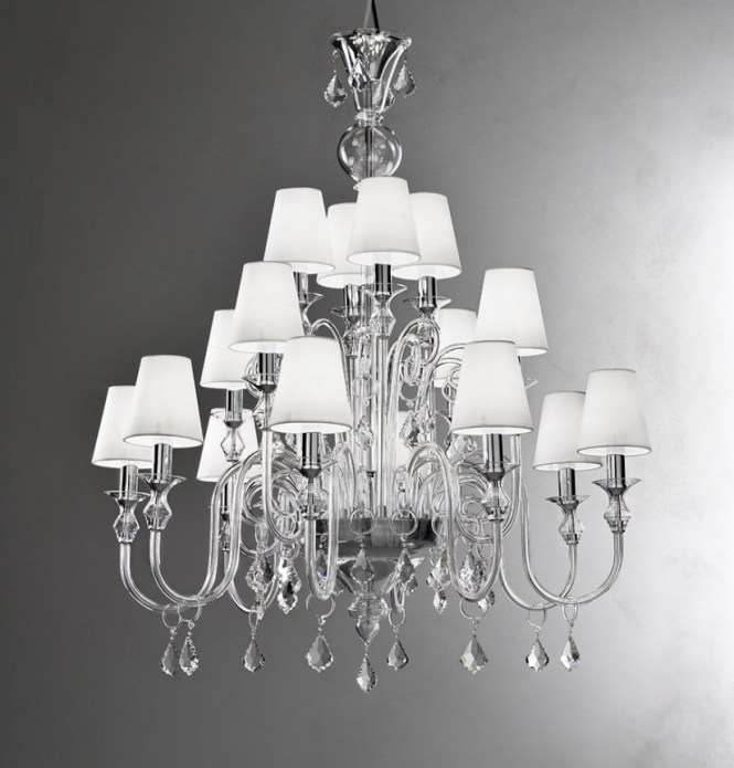 Glass Chandelier Shades Replacement Bowl Lamp