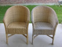 Painting Wicker Furniture Chairs