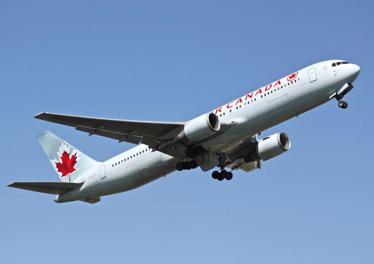 Air Canada suspende sus vuelos a Estados Unidos por casi un mes