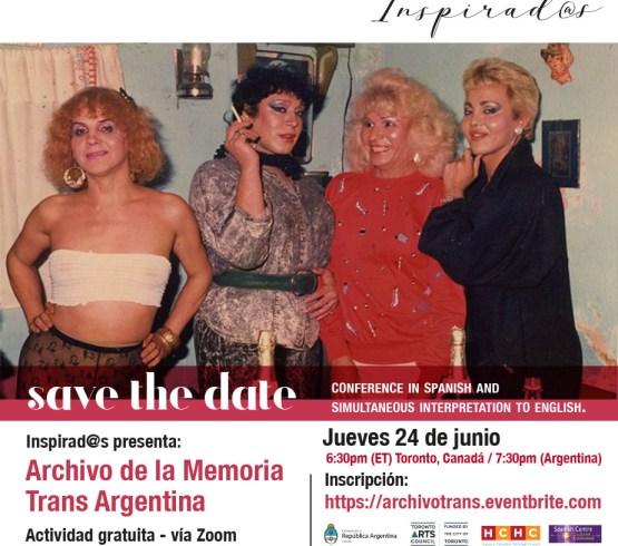 """Inspirad@s presenta """"Archivo de la Memoria Trans"""""""