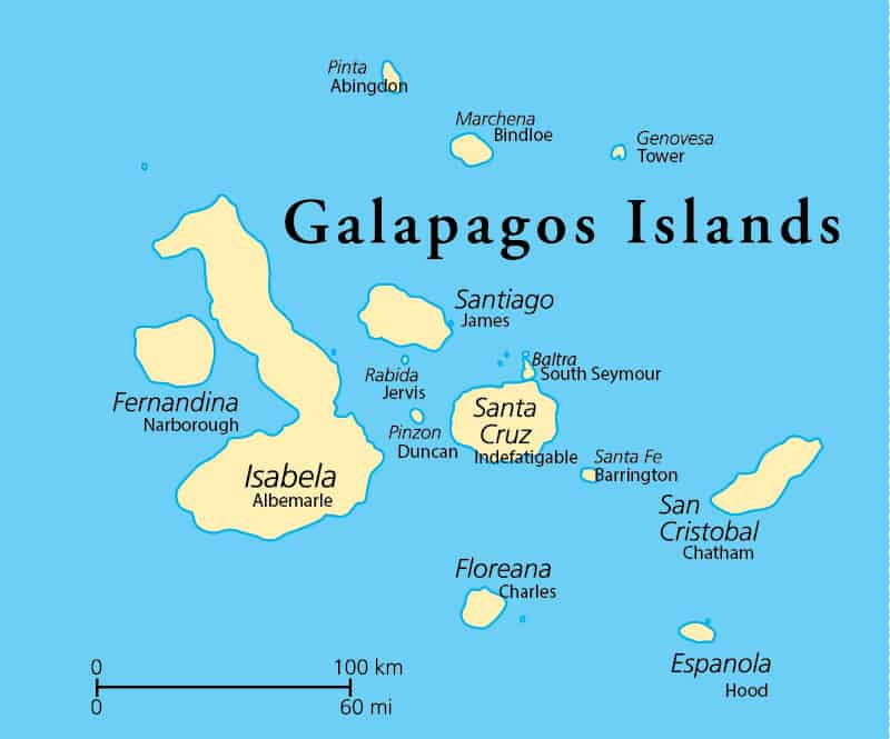 Guide to Galapagos Islands Names: 33 Islands and Islets ... on guatemala on map, amazon river on map, madeira islands on map, jamaica on map, greater antilles on map, paraguay on map, arctic circle on map, tierra del fuego on map, ogasawara islands on map, brazilian highlands on map, barbados islands on map, south america on map, japan islands on map, andes mountains on map, hawaiian islands on map, amazon basin on map, chinese rivers on map, arctic islands on map, aleutian islands on map, canada on map,