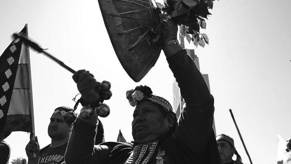 Más de 10 mil mapuches marcharon el Día de la Resistencia Indígena