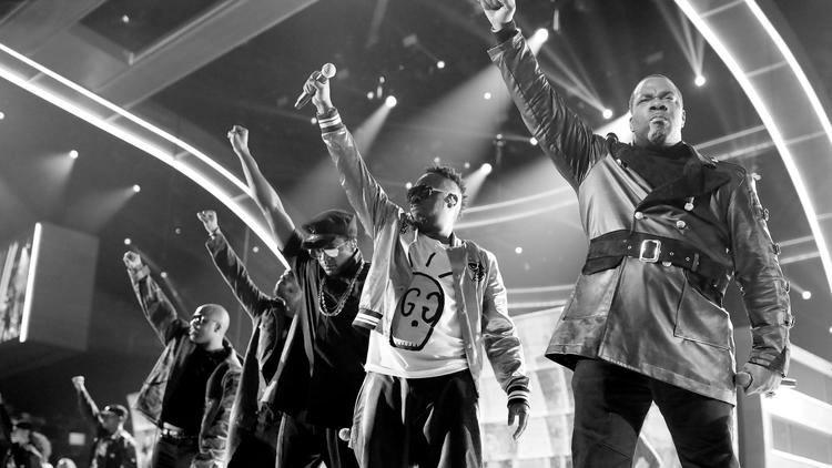 Leyendas del hip hop alzaron sus voces contra Trump en los Grammy