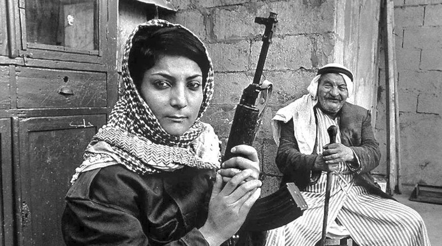 Lucha y arte de mujeres palestinas
