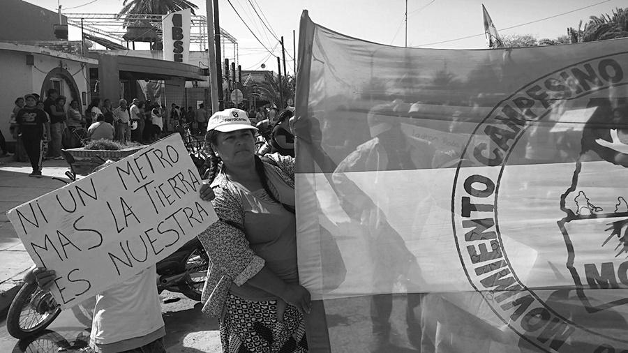 Patota empresarial golpea a campesinos en Santiago del Estero