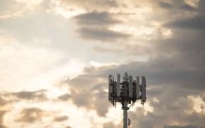 手机塔的照片