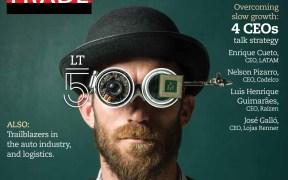 cover of Latin Trade Magazine - Semester 2, 1017