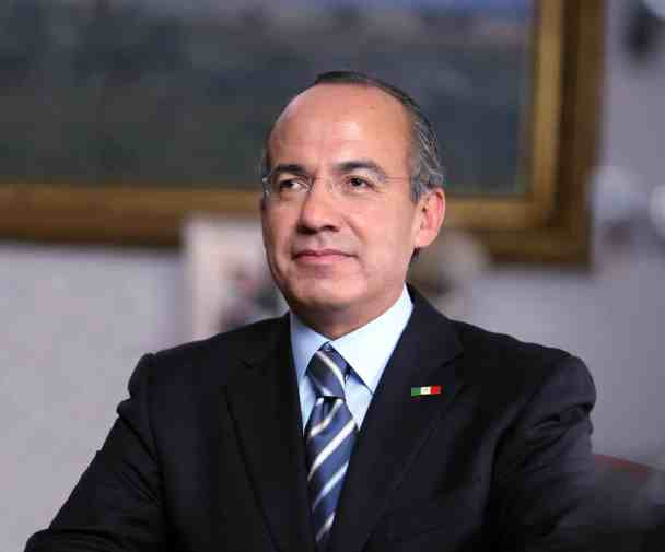 photo of Felipe Calderon, former president of Mexico