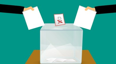 image of two votes being cast