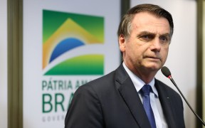 巴西中国Bolsonaro