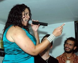 Judy Torres delighted her fans at the release party with the song Stay