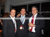 (Left to right) Juan José Durán, Televisa Digital; Reinaldo Padua, The Coca - Cola Company and Carlos Vasallo, Latin Vision.