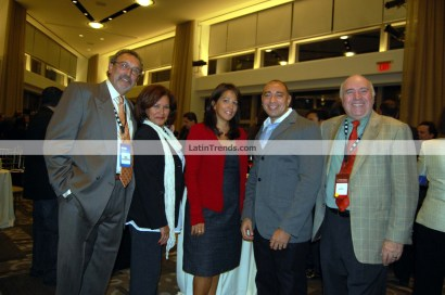 (Left to right) Nelson Landrieu, Marta García, Carol Robles Román, Calixto Chinchilla, Joe Wiscolitch