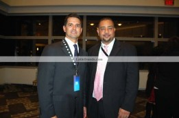 Carlos Sánchez, President Telemundo 47 and Juan Guillen, Publisher Latin Trends