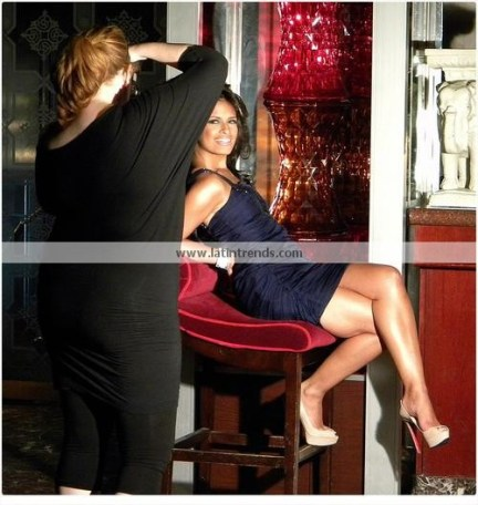 Rocsi Diaz Behind the Scenes 18