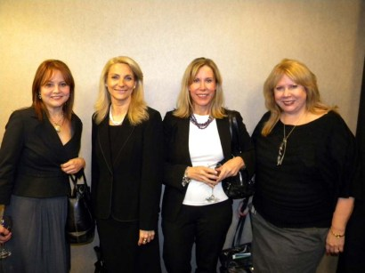 Rosemary Carrillo, Publisher Business Latino, Dr. Suzanne Colin, Gail M.Smith, Publisher Impacto and Charlotte Boc, TIAA CREF