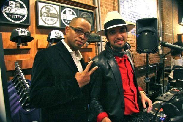 Stuart Scott and DJ Cassidy
