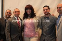 From left: Raymond Mounier, Calixto Chinchilla, Judy Torres, Monse Torres, & Louis Pagan