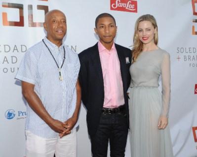 Russell, Pharrell, Melissa George