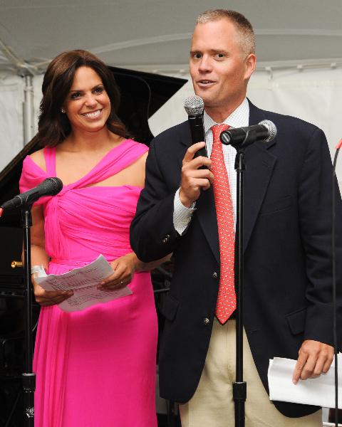 Soledad and Brad podium