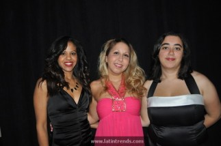 LatinTRENDS staff, left to right, Maria V. Luna, Shelley Mendoza, and Hope Lawrence