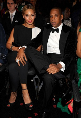 Beyonce and Jay-Z in the audience at the 2013 Grammy Awards [Photo: Getty Images]