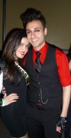 Miss Albania and singer Ladyboi