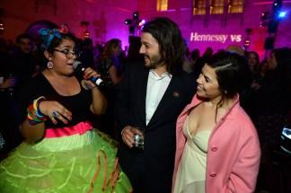 "Hennessy V.S hosted Marysol Hernandez from La Santa Cecilia, Diego Luna, and America Ferrera to celebrate the premiere of ""Cesar Chavez"""