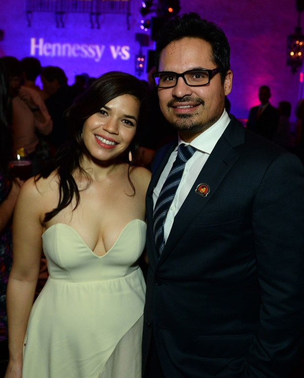 America Ferrera and Michael Peña
