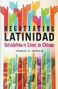 book cover of Negotiating Latinidad