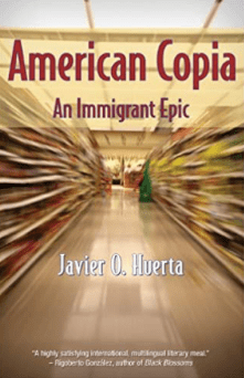 Book cover of American Copia showing grocery store aisle