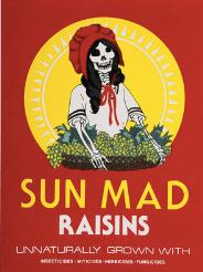 "Artist Ester Hernandez's ""Sun Mad"" art"