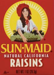 Photo of Sun-Maid Raisin box cover