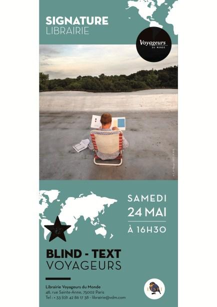 AFFICHE - Blind - Text - ptt