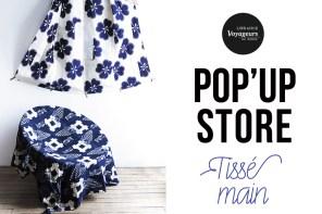 POP'UP STORE – TISSE MAIN du samedi 3 au samedi 10 décembre