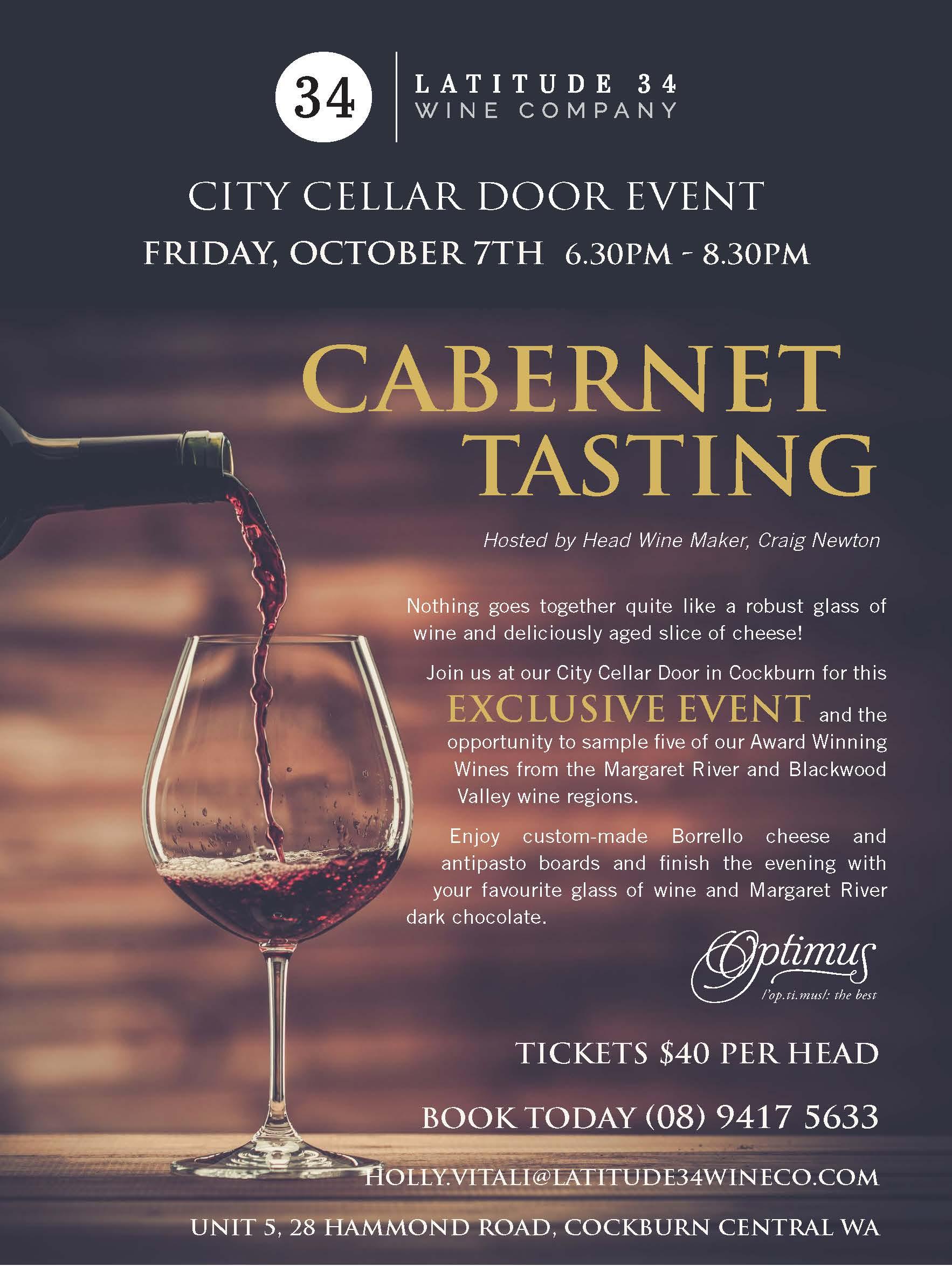 CCD Cabernet Tasting Invite 2016 10 07
