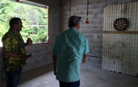 darts Raising the Roof, Panamanian-Style! Boquete Panama The Expat Life