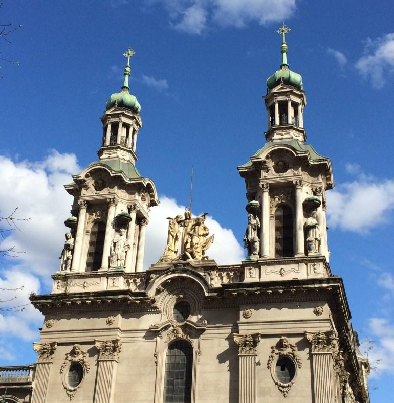 "basilica-de-san-francisco Buenos Aires: ""Architectural Disneyland"" Argentina Buenos Aires"