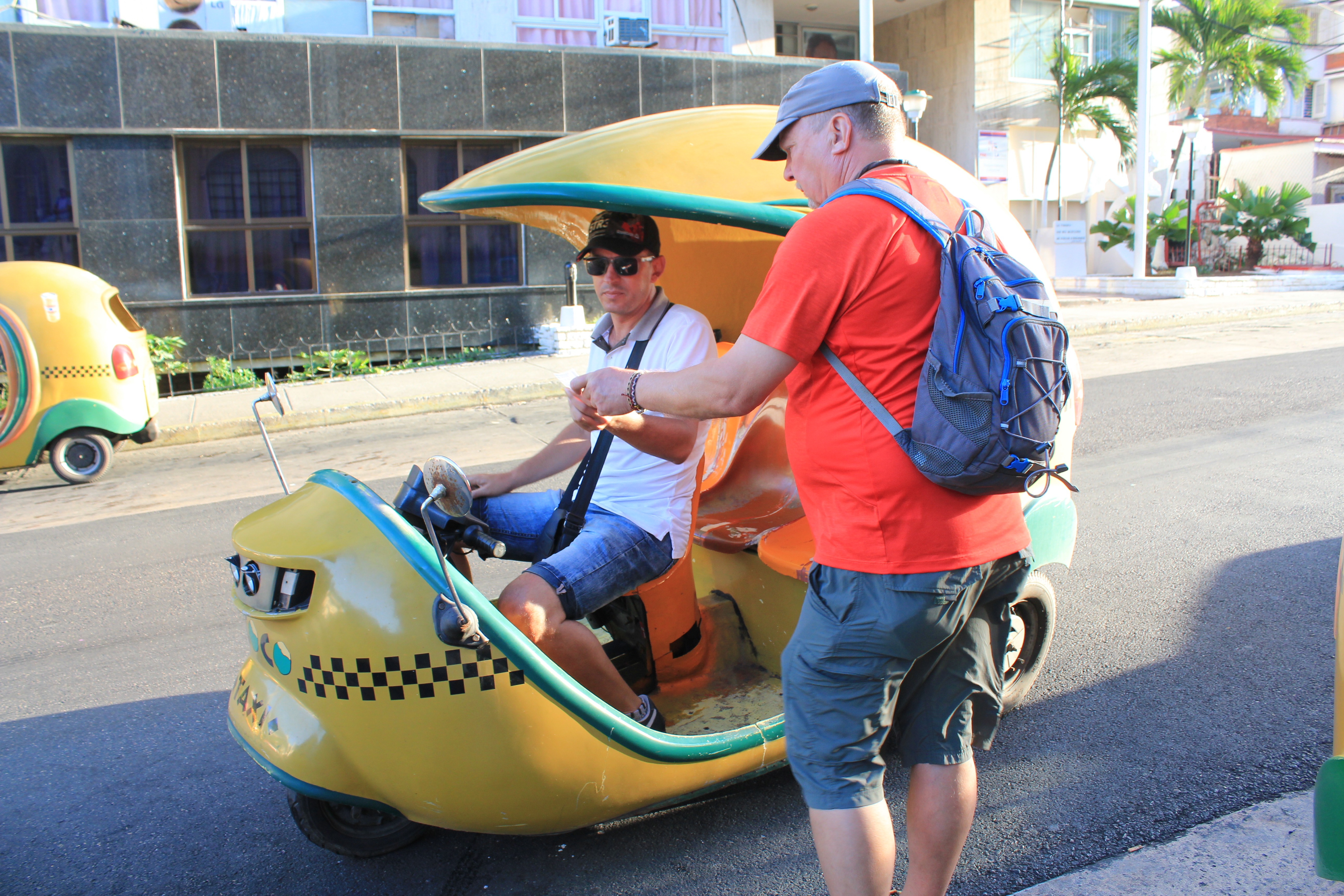 coco-taxi-in-havana So, you want to go to Cuba? Here are some pointers. Cuba