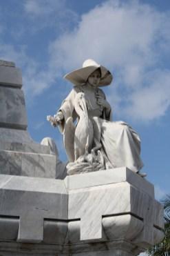 nun_detail_bomberos_monument_havana Havana has cemetery stories, too Cuba