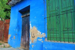 Blue-and-Green-Trinidad A Cuban Road Trip, Part 2 - Trinidad Cuba Trinidad