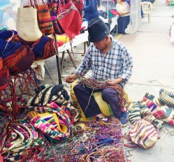 "Otavalo-Bag-Weaver ""Panama"" Hats and Hot Springs: Two Day/Overnight Trips Out of Quito, Ecuador Ecuador"