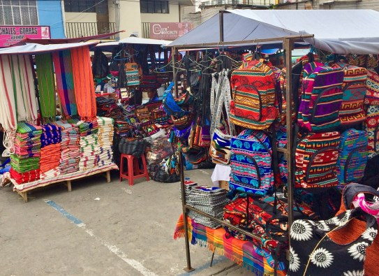 """Otavalo-Market-1 """"Panama"""" Hats and Hot Springs: Two Day/Overnight Trips Out of Quito, Ecuador Ecuador"""