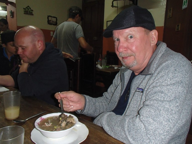 Placenta-Soup-Quito FOUR DAYS IN QUITO, ECUADOR: Part I Ecuador Quito