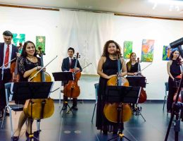First Ensemble of Cellos of the University of Panamá, photo 2