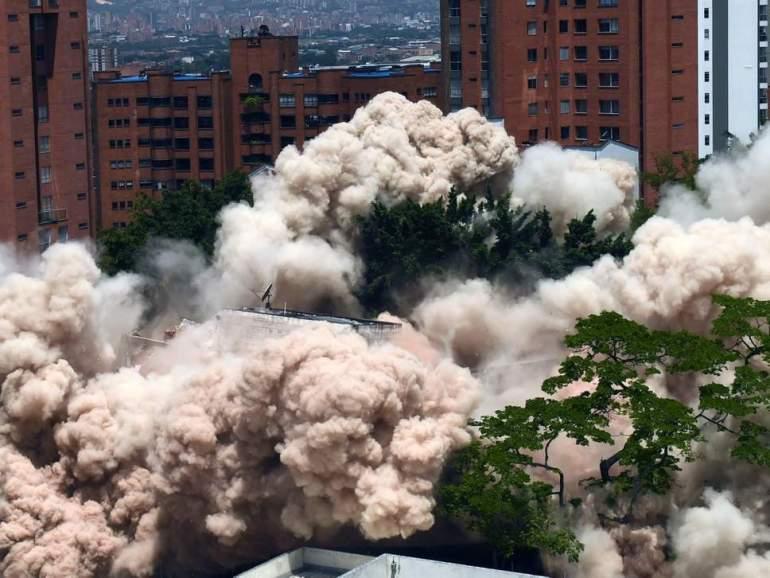 Monaco demolition and Venezuela Aid Live concert