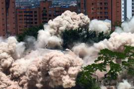 Monaco demolition and Venezuela Aid Live concert