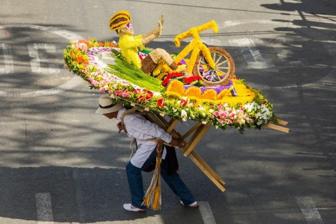 sillatera Medellín's Feria de las Flores Colombia Medellin